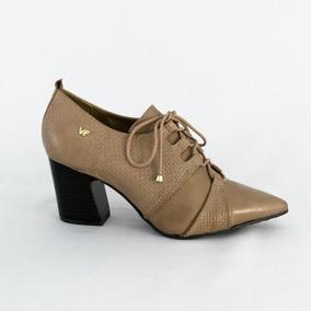 6a23f8bd8a Sapato Feminino Oxford Verofatto 6013202 Couro 100% Original