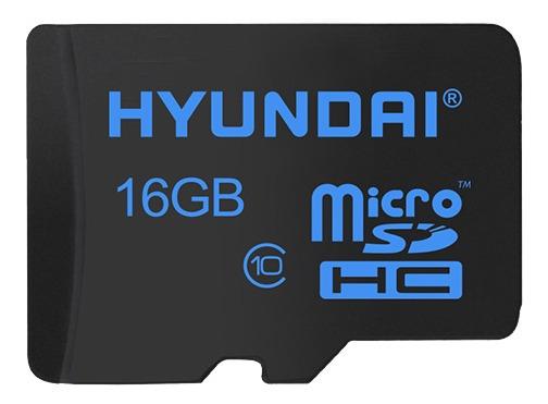 Cartão Memoria Micro Sd Hyundai 16gb + 1 Adptclass 10