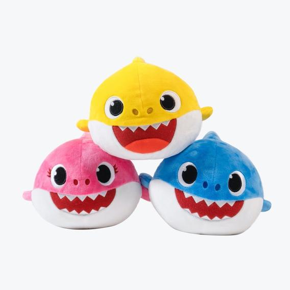 Peluches Originales Baby Shark - 3 Personajes