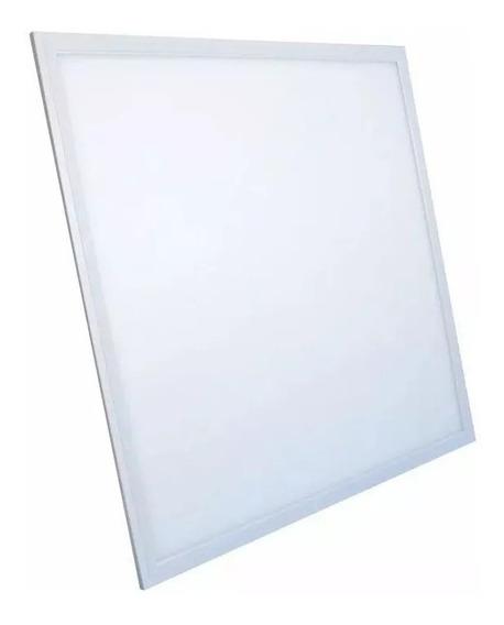 Plafon Led Luminária 48w 62x62 Embutir Premium Branco Frio