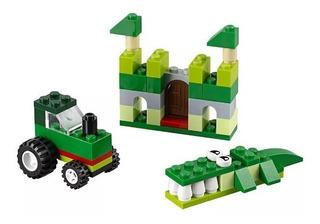 Set Para Construcción Verde Lego Bloques Juguete Niños Pp.
