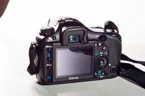 Câmera Pentax K20 Estabz. Na Câmera !!!