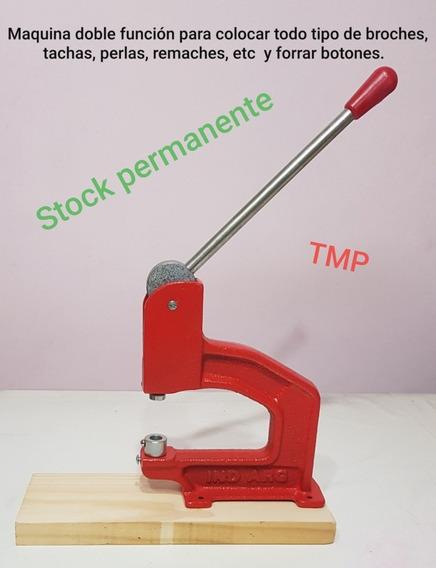 Maquina Doble Función Para Colocar Broches