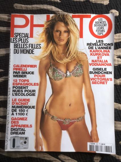 Revista Photo Francesa Karolina K Gisele Bundchen Natalia V