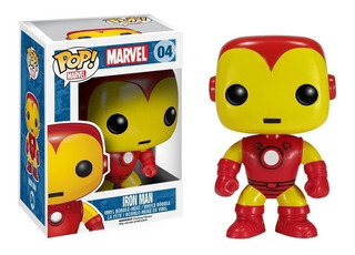 Funko Pop 04 Iron Man Marvel