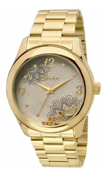 Relógio Condor Feminino Co2039ad/4x Dourado Oferta