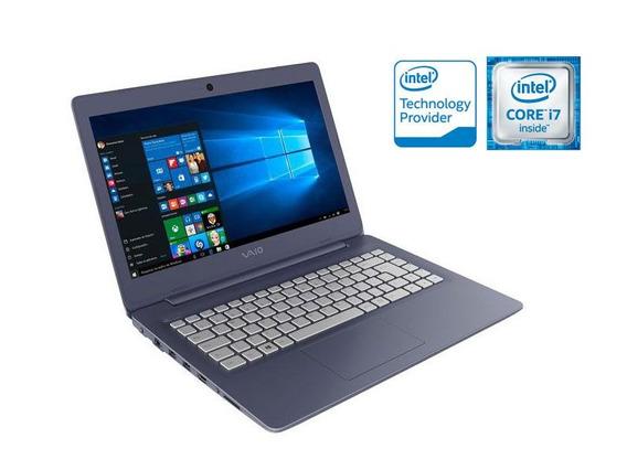 Notebook Vaio Vjc141f11x-b0311l C14 I7-6500u 1tb 8gb 14 Led