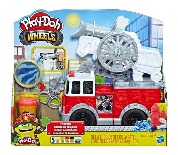 Play-doh Wheels Camión De Bomberos Hasbro