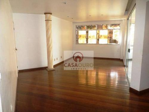 Apartamento Com 4 Quartos À Venda, 150 M² Por R$ 790.000 - Serra - Belo Horizonte/mg - Ap1101