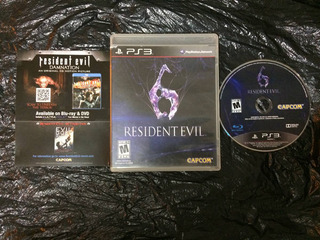 Juego Ps3 Resident Evil 6