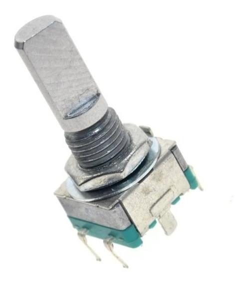 Encoder Rotativo Potenciômetro Áudio Ec11 Rotary Arduino