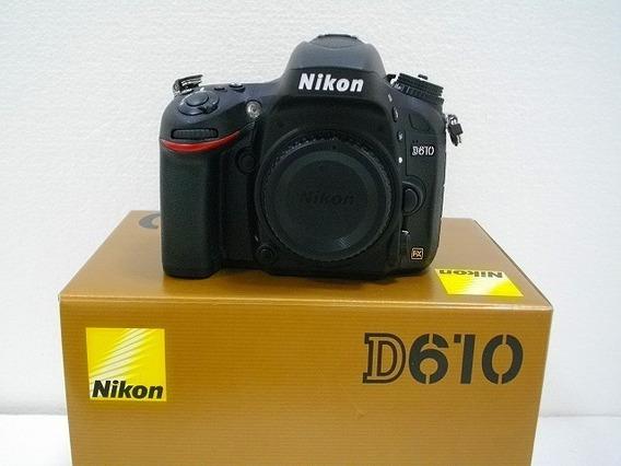 Nikon D610 4.000 Mil Disparos