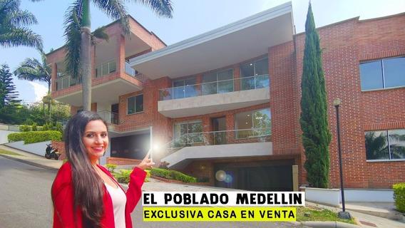 Casa En Venta En Medellin El Poblado