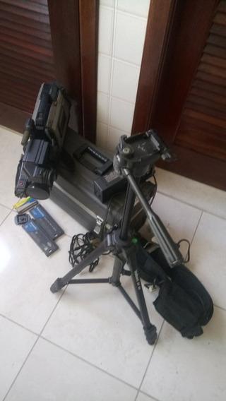 Câmera De Vídeo Ag450 Panasonic Com Acessórios