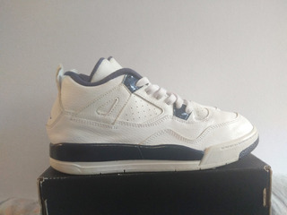Jordan 4 Retro 4 Columbia Blanco/azul 22cm