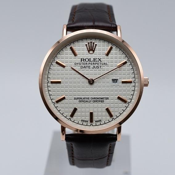 Relogio - Rolex Couro Edição Limitada Frete Gratis