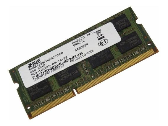 Memoria Ddr3 Pc3 10600 1333mhz 1x4gb 2rx8 Smart Notebook