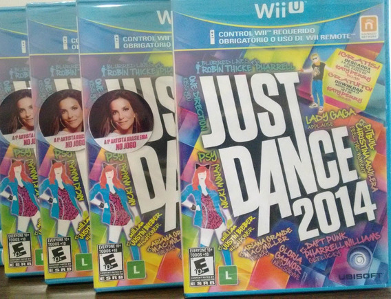 Just Dance 2014 Nintendo Wii U Mídia Física Novo Lacrado