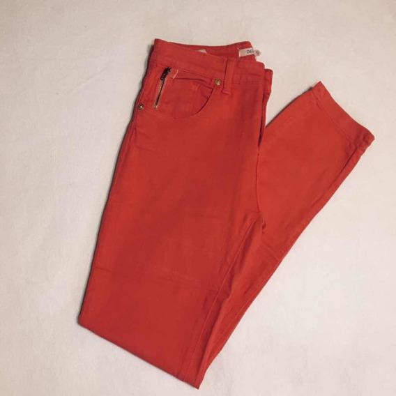 Pantalón Jean Chupin, Rojo - Delaostia