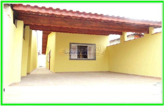 Casas Na Praia Em Itanhaém Com 3 Dormitórios Ref 7658w