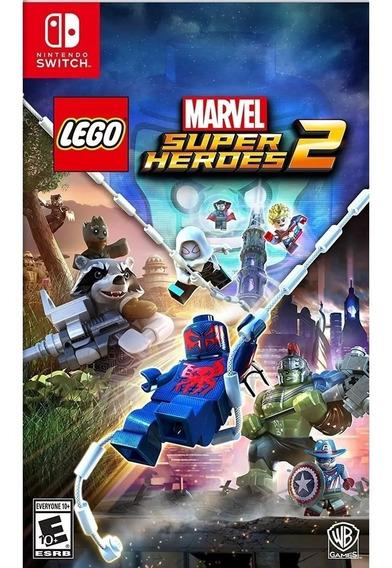 Jogo Lego Marvel Super Heroes 2 Nintendo Switch Midia Fisica