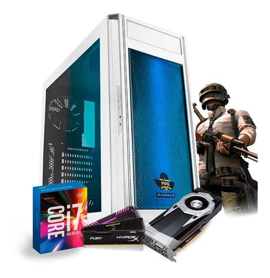 Pc Gamer I7 7700k Ga-h270m-gaming 3 Gtx1060 6gb Water 8gb