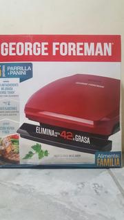 Parrilla & Panini 5 Porciones Marca George Foreman