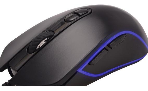 Mouse Gamer Pro M7 Rgb 4800 Dpi Preto Fortrek Gaming Usb