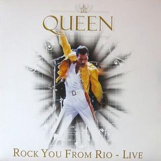 Vinilo Queen Rock You From Rio 1985 Nuevo Envío Gratis