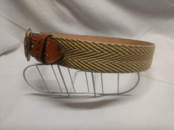 Cinturón Vaquero-charro(tela/cuero) -el Güero-