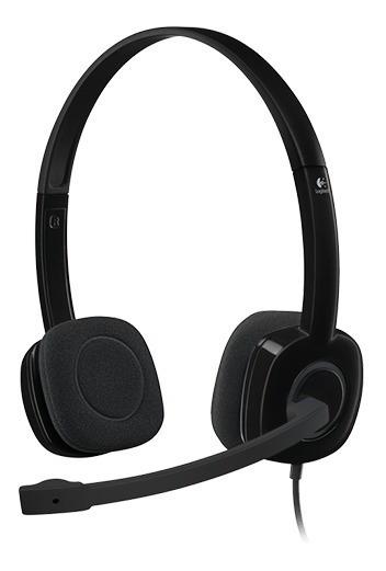 Fone C/ Microfone H151 Logitech
