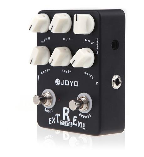 Imagen 1 de 1 de Guitarra Joyo Jf-17 Efecto Distorsin Pedal Metal Extremo