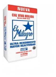 Cal Milagro Bolsa X 25 Kg. - Cal Aérea Hidratada De Cefas