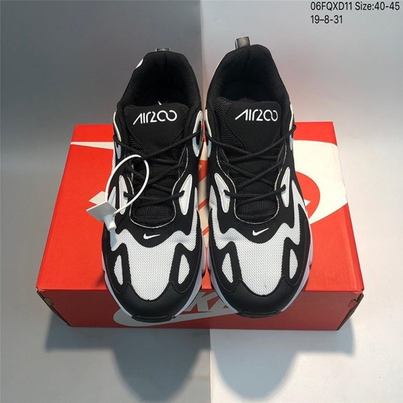 Nk Air Max 200 40/45 Negro/blanco