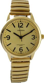 Reloj Tressa T-strech-g Elastizado Dorado