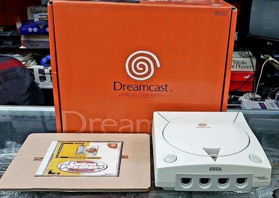 Dreamcast Sega Japonês Completo Serial Bate Com A Caixa