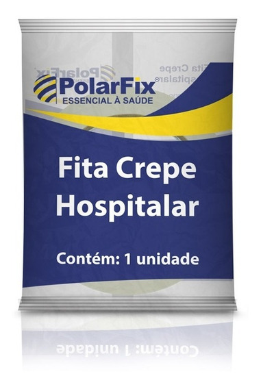 Fita Adesiva Hospitalar 19cmx50mts - 10 Unidades