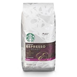 Starbucks Espresso Café Tostado Oscuro En Grano Entero,