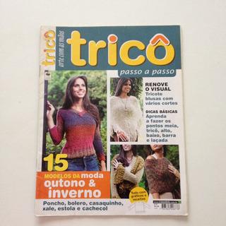Revista Arte Com As Mãos Tricô Poncho Bolero Xale Bb942
