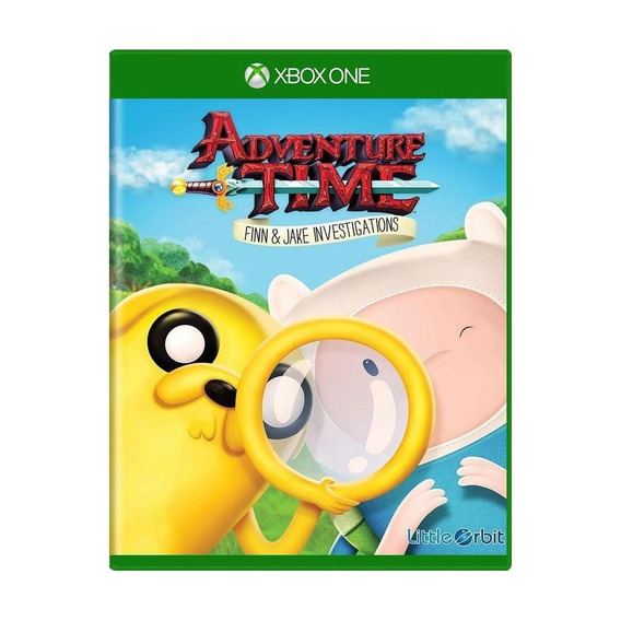 Adventure Time Finn And Jake Investigations Xbox One Física