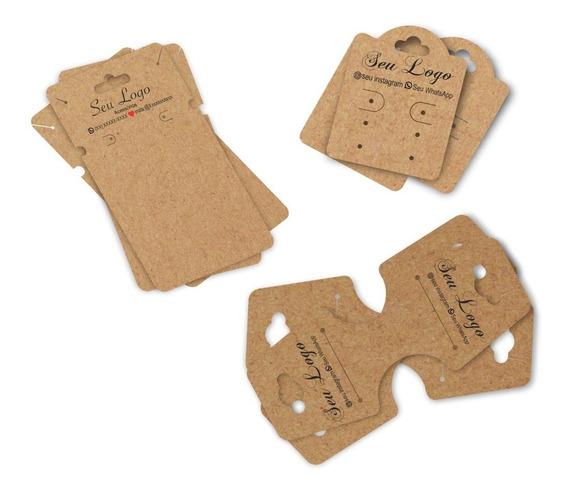 Tags Bijuterias Kit Com 3 Modelos Personalizados 200 Peças