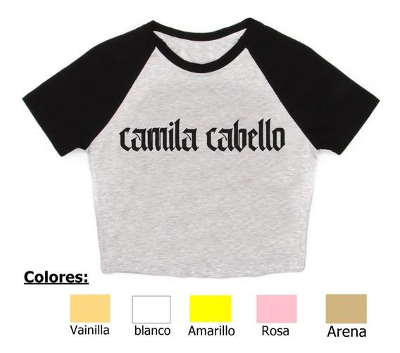 Remera Camila Cabello 3 Pupera