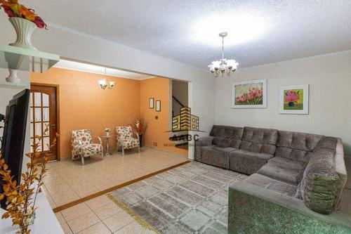 Imagem 1 de 30 de Casa Com 3 Dormitórios À Venda, 200 M² Por R$ 810.000,00 - Mooca - São Paulo/sp - Ca0155
