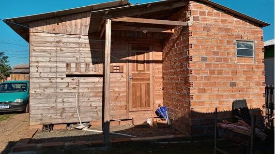 Casa De Madeira 5.40x5.40 2 Quarto Sala E Cozinha Banheiro