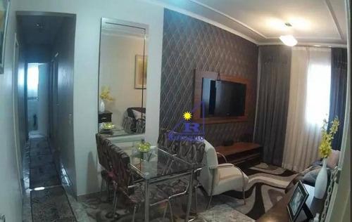 Imagem 1 de 12 de Apartamento Com 2 Dormitórios À Venda, 62 M² Por R$ 275.000,00 - Cangaíba - São Paulo/sp - Ap4187