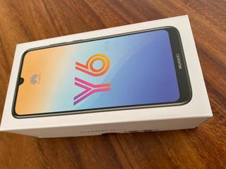 Y6 2019 Huawei Negro Tipo Piel