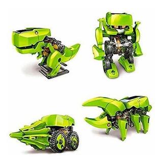 Robot Solar Tipo Lego 4 En 1 In Dino
