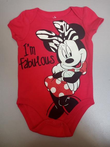 Body Para Niña Disney Baby De 3-6 Y 6-9 Meses