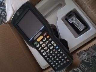 Colector De Datos Motorola 3090g+2 Baterías+ Base Cargadora