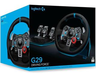 Volante Logitech G29 Racingwheel C/pedalera Fantasytraderok
